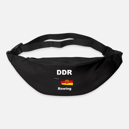 Aquatics Bags & Backpacks - DDR - Rowing - Rowing - Aviron - GDR - Bum Bag black