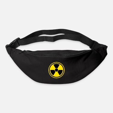 Vector Warning sign Nuclear - Bum Bag
