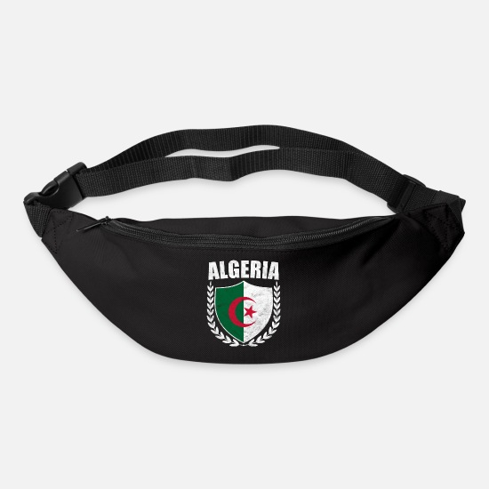 Travel Bags & Backpacks - Algeria Flag Algeria الجزائر - Bum Bag black