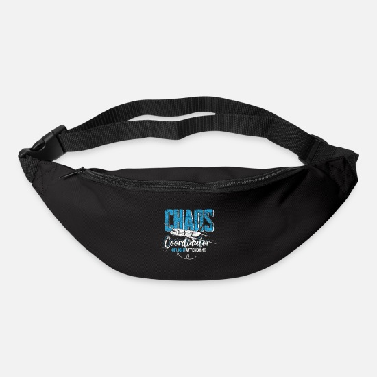 Gift Idea Bags & Backpacks - flight attendant - Bum Bag black