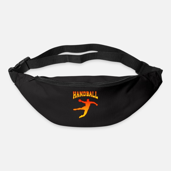 Handball Player Bags & Backpacks - Handball Handball player goal Shot on goal attack - Bum Bag black