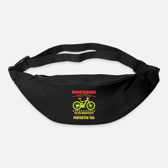 Bike Messenger Bags & Backpacks - Mountain Bike Shirt · Bicycle · Perfect Gift - Bum Bag black