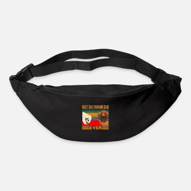 Best Best Dachshund Dad Ever Funny Cat Daddy Father day - Bum Bag