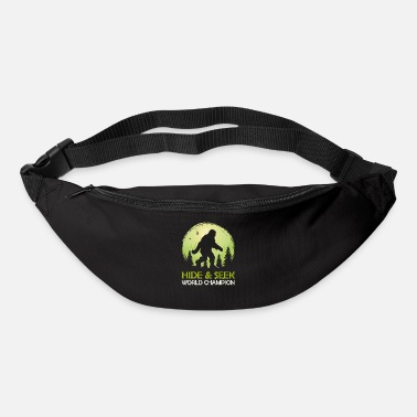 Masque Le champion du monde de cache-cache Bigfoot Sasquatch - Sac banane