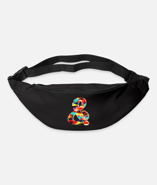 Symbol  Bags & Backpacks - Ampersand (colourful) - Bum Bag black