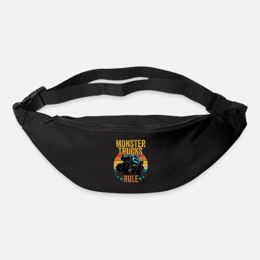 Monster Truck Monster Trucks - Monster Trucks Rule - Bum Bag