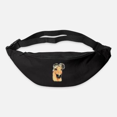 Norwegian Fjord horse Norwegian horse head Funny gift - Bum Bag