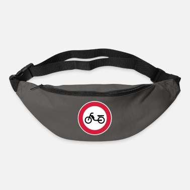 Interdiction Cyclomoteur cyclomoteur Interdiction Interdiction - Sac banane