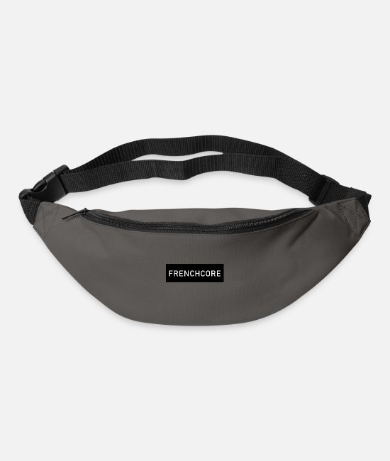 Bass Bags & Backpacks - Frenchcore - Bum Bag graphite grey