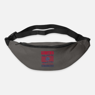 Democracy Patriot Day American Spirit wants prevail - Bum Bag