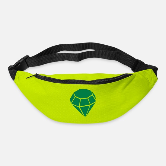 Jewelry Bags & Backpacks - Diamond - Bum Bag lime green