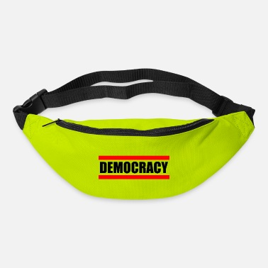 Democracy DEMOCRACY - democracy - Bum Bag
