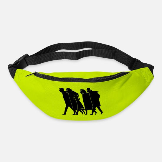 Prussia Bags & Backpacks - Flight and expulsion - Bum Bag lime green