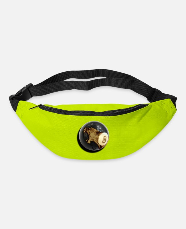 Drakos Bags & Backpacks - eigth tiger by dk - Bum Bag lime green