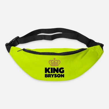 Bryson King bryson name thing crown - Bum Bag