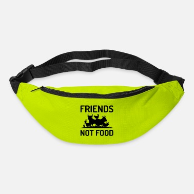 Animal Friends not Food Animal Welfare Animal Rights Gift - Bum Bag