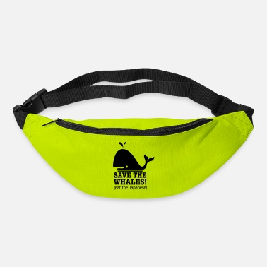 Save The Whales save the whales - Bum Bag