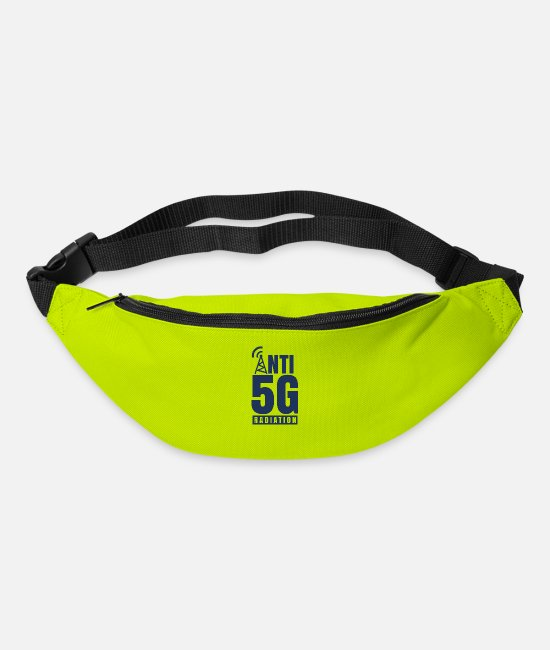 Resistance Bags & Backpacks - Anti 5G radiation - Bum Bag lime green
