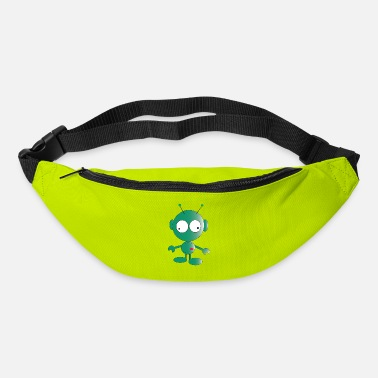 Green Cute green alien - Bum Bag