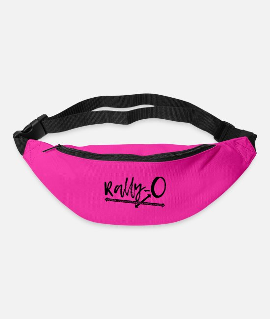 Sweet Dog Bags & Backpacks - Rally Obedience Rally-O - dog sport gift idea - Bum Bag fuchsia