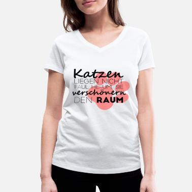 6339a6de8ce les-chats-embellissent-la-salle-chemise-t-shirt-bio-col-v-stanley-stella- femme.jpg