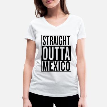 Mexico City Mexico - Women's Organic V-Neck T-Shirt by Stanley & Stella