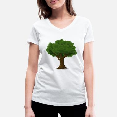 Protection Of The Environment For the environment! - Women's Organic V-Neck T-Shirt