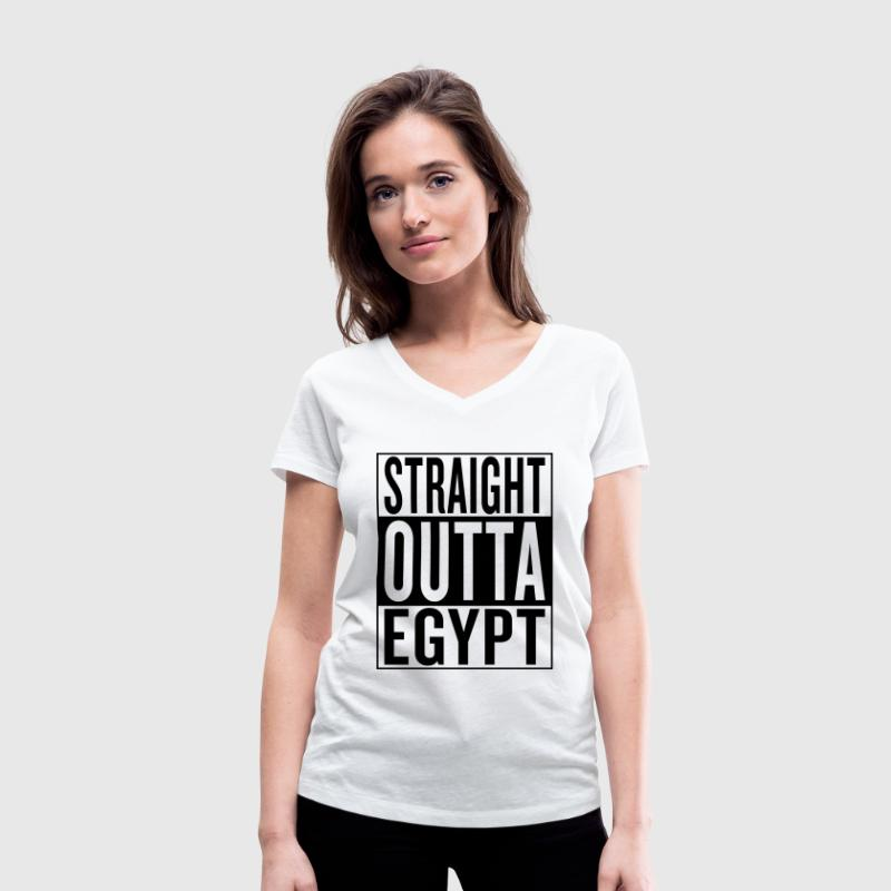 Egypt - Women's Organic V-Neck T-Shirt by Stanley & Stella