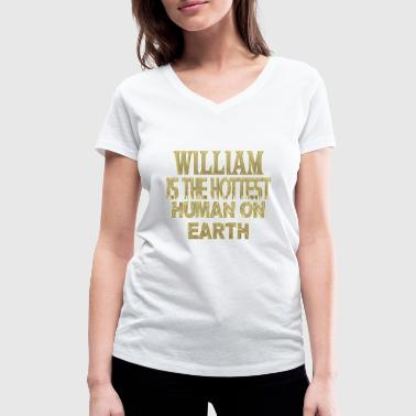 William Wallace William - Women's Organic V-Neck T-Shirt by Stanley & Stella