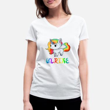 Ulrik Unicorn Ulrike - Women's Organic V-Neck T-Shirt by Stanley & Stella