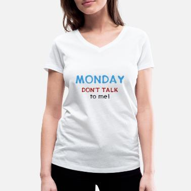 Reminisce Monday - do not appeal gift idea office - Women's Organic V-Neck T-Shirt