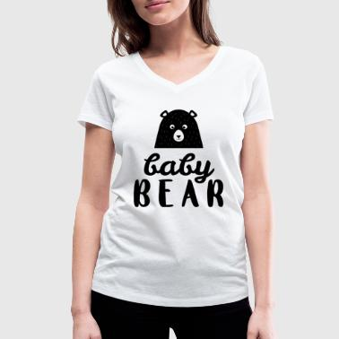 Baby Bear - Gift idea - Women's Organic V-Neck T-Shirt by Stanley & Stella