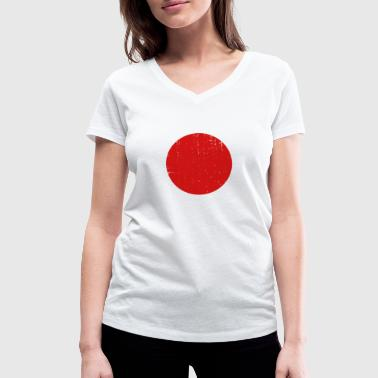 Japan - Women's Organic V-Neck T-Shirt by Stanley & Stella