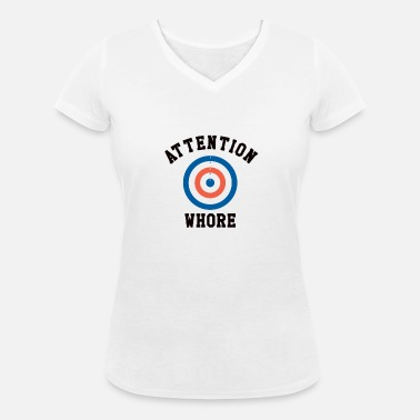 2776c5465 Sarcastic Attention Whore Target Maternity T-Shirt   Spreadshirt