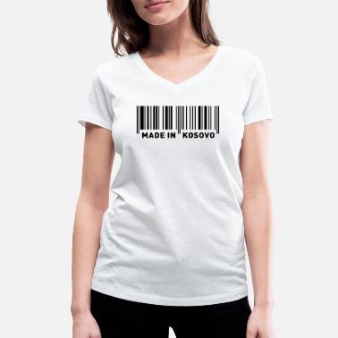 MADE IN KOSOVO - Women's Organic V-Neck T-Shirt by Stanley & Stella