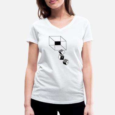 Optic Gaming Dice - the Game - Women's Organic V-Neck T-Shirt by Stanley & Stella