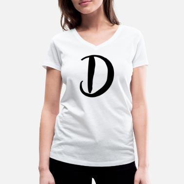 D&d D - Women's Organic V-Neck T-Shirt by Stanley & Stella