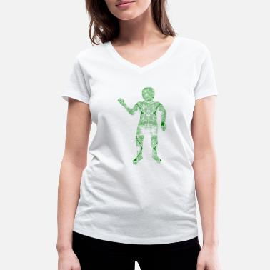 Hardware Digital Hardware Man - Vrouwen V-hals bio T-shirt