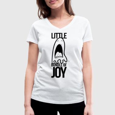 Little bundle of joy - Vrouwen bio T-shirt met V-hals van Stanley & Stella
