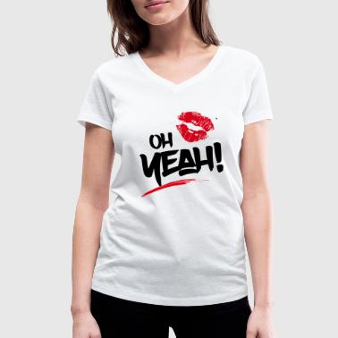 oh yeah!  Be Fash Now - Women's Organic V-Neck T-Shirt by Stanley & Stella