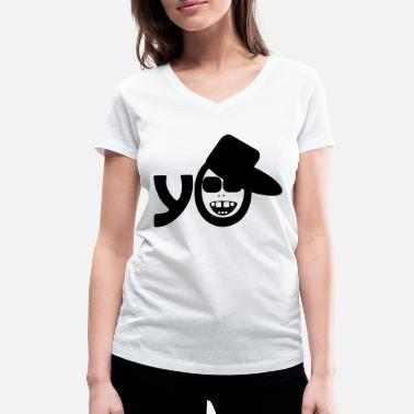 Hip Hop Rap Cool Music Breakdance del baile del rapero - Camiseta con  cuello de pico 1d8c50656dd