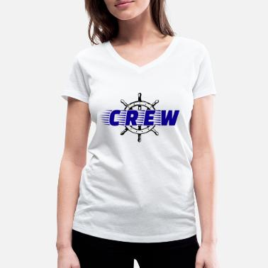 Boat Crew Crew boat water sports - Women's Organic V-Neck T-Shirt by Stanley & Stella