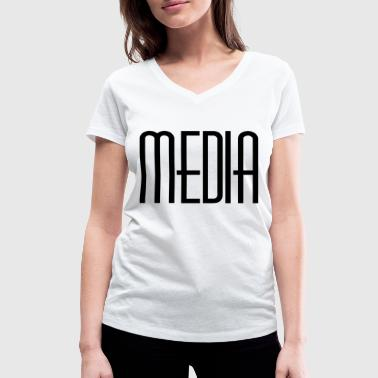 Media - Women's Organic V-Neck T-Shirt by Stanley & Stella
