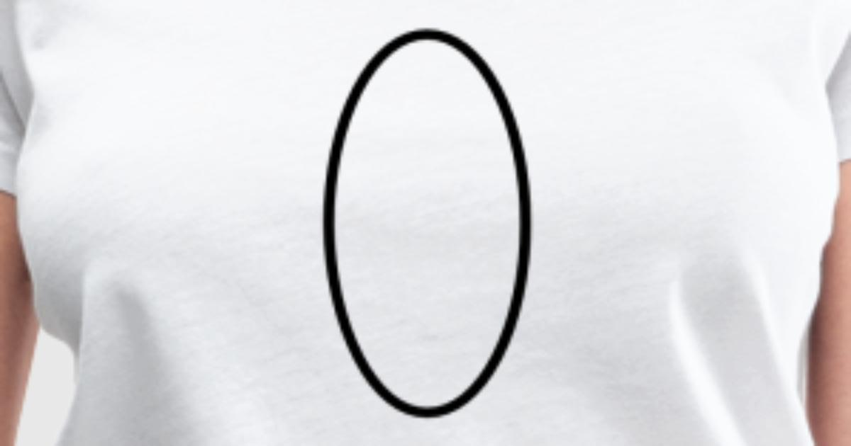 Math Symbol Ellipse By Thoughtfulneeds Spreadshirt