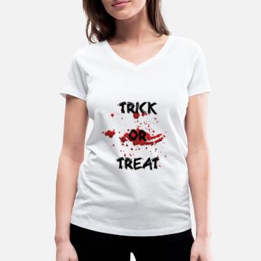 Trick Or Treat trick or treating - Women's Organic V-Neck T-Shirt