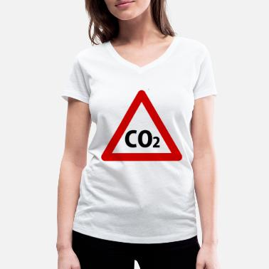 Co2 co2 - Women's Organic V-Neck T-Shirt