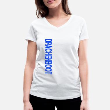 Dragon Boat dragon boat - Women's Organic V-Neck T-Shirt