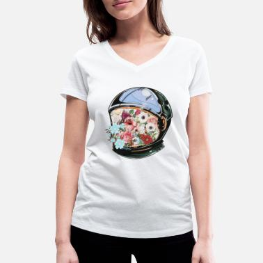 Bloom In Bloom - Women's Organic V-Neck T-Shirt