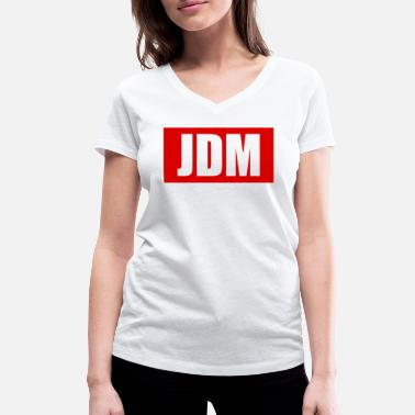 Jdm JDM - Women's Organic V-Neck T-Shirt