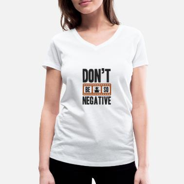 Negative negative - Women's Organic V-Neck T-Shirt